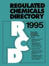 Regulated Chemicals Directory 1995