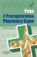 Pass the Preregistration Pharmacy Exam
