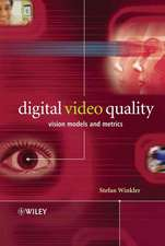 Digital Video Quality: Vision Models and Metrics