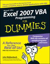 Excel 2007 VBA Programming for Dummies:  The True Story of Rome's Remarkable 14th Legion