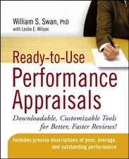 Ready–to–Use Performance Appraisals: Downloadable, Customizable Tools for Better, Faster Reviews!