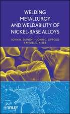 Welding Metallurgy and Weldability of Nickel–Base Alloys