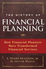 The History of Financial Planning: The Transformation of Financial Services