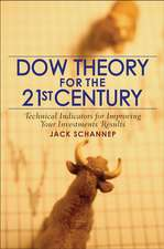 Dow Theory for the 21st Century: Technical Indicators for Improving Your Investment Results