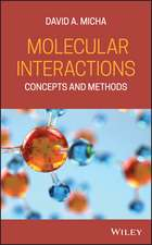 Molecular Interactions: Concepts and Methods