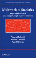 Multivariate Statistics: High–Dimensional and Large–Sample Approximations