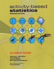 Activity–Based Statistics, 2nd Edition Student Guide