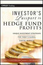 Investor′s Passport to Hedge Fund Profits: Unique Investment Strategies for Today′s Global Capital Markets