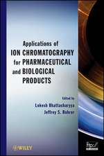 Applications of Ion Chromatography for Pharmaceutical and Biological Products:  Answers to Questions You Didn't Even Know to Ask
