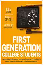 First–Generation College Students: Understanding and Improving the Experience from Recruitment to Commencement