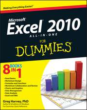 Excel 2010 All–in–One For Dummies