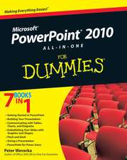 PowerPoint 2010 All–in–One For Dummies