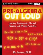 Pre–Algebra Out Loud: Learning Mathematics Through Reading and Writing Activities