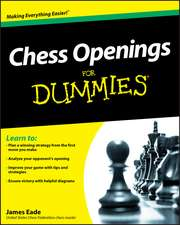 Chess Openings for Dummies:  The Practical Reference and Strategy Guide to Trading Options