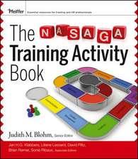 The NASAGA Training Activity Book