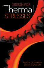 Design for Thermal Stresses
