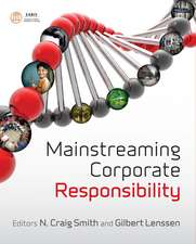 Mainstreaming Corporate Responsibility