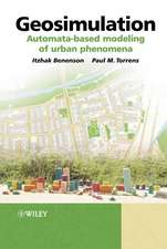 Geosimulation: Automata–based modeling of urban phenomena