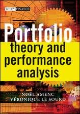 Portfolio Theory and Performance Analysis