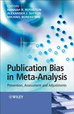 Publication Bias in Meta–Analysis: Prevention, Assessment and Adjustments