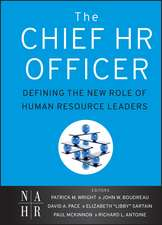 The Chief HR Officer: Defining the New Role of Human Resource Leaders