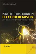 Power Ultrasound in Electrochemistry: From Versatile Laboratory Tool to Engineering Solution