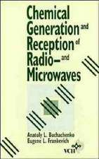 Chemical Generation and Reception of Radio–and Microwaves