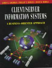 Client/Server Information Systems: A Business–Oriented Approach