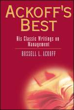 Ackoff′s Best: His Classic Writings on Management
