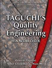 Taguchi's Quality Engineering Handbook:  Managing for Profit in Bar and Beverage Service