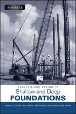 Analysis and Design of Shallow and Deep Foundations