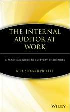 The Internal Auditor at Work: A Practical Guide to Everyday Challenges