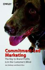 Commitment–Led Marketing: The Key to Brand Profits is in the Customer′s Mind