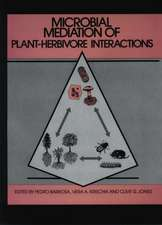 Microbial Mediation of Plant–Herbivore Interactions