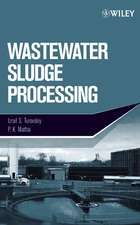 Wastewater Sludge Processing