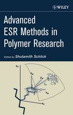 Advanced ESR Methods in Polymer Research