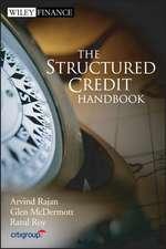The Structured Credit Handbook