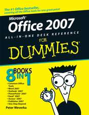 Office 2007 All–in–One Desk Reference For Dummies