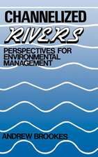 Channelized Rivers: Perspectives for Environmental Management