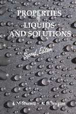 Properties of Liquids and Solutions