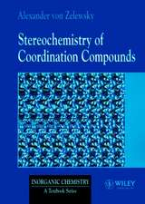 Stereochemistry of Coordination Compounds