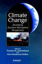 Climate Change: Developing Southern Hemisphere Perspectives