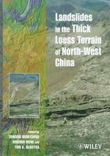Landslides in the Thick Loess Terrain of North–West China