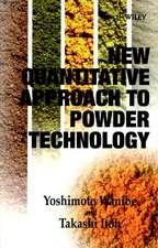 New Quantitative Approach to Powder Technology
