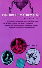 History of Mathematics, Vol. I