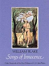 Songs of Innocence:  Color Facsimile of the First Edition with 31 Color Plates