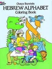 Hebrew Alphabet Coloring Book