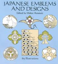 Japanese Emblems and Designs:  95 Different Copyright-Free Designs Printed One Side