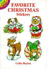 Favorite Christmas Stickers