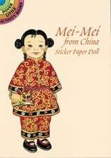 Mei-Mei from China Sticker Paper Doll